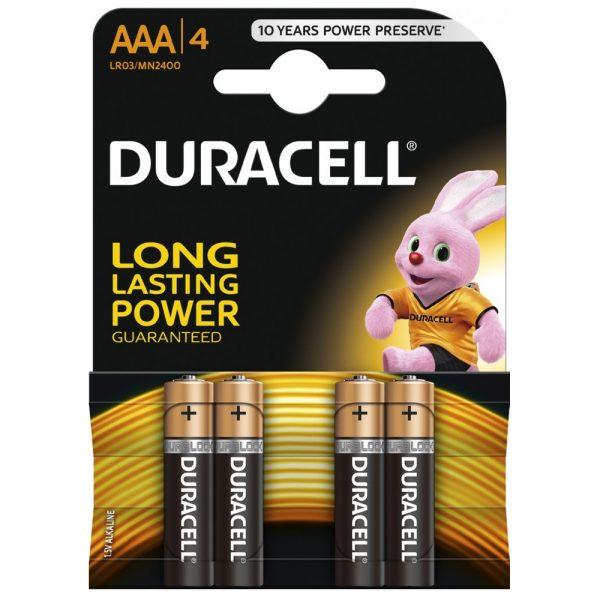 Baterie alcalina Micro (AAA,R03) MN2400 Duracell Basic