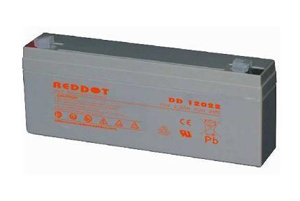 Acumulator plumb acid RedDot 12V 2,2Ah (Faston 230 - 6,4mm)