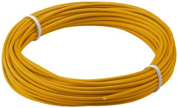 Cablu cupru multifilar izolat, 10m, portocaliu